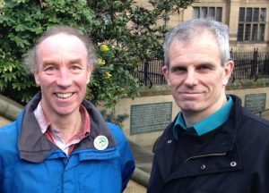 Cllrs Douglas Johnson and Rob Murphy