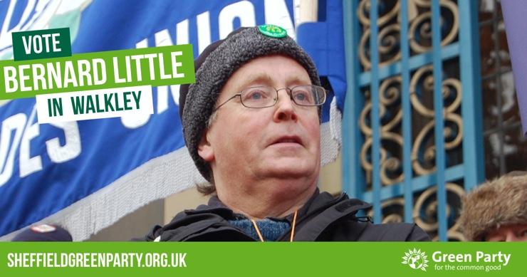 Vote Bernard Little in Walkley