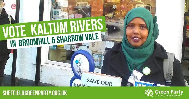 Vote Kaltum Rivers in Broomhill & Sharrow Vale