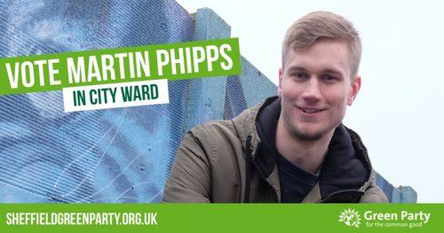 Vote Martin Phipps in City Ward