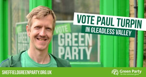 Vote Paul Turpin in Gleadless Valley
