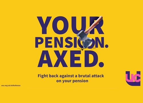 Your pension axed