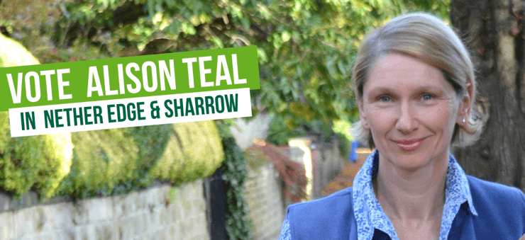 Vote Vote for Councillor Alison Teal in Nether Edge & Sharrow in Nether Edge & Sharrow