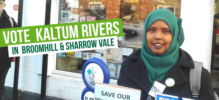 Vote Vote for Kaltum Rivers in Broomhill & Sharrow Vale in Broomhill & Sharrow Vale