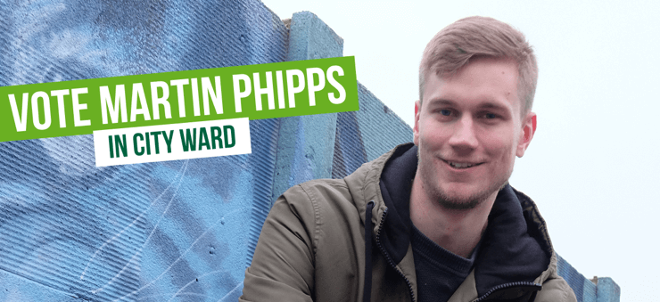 Vote Vote for Martin Phipps in City Ward in City Ward