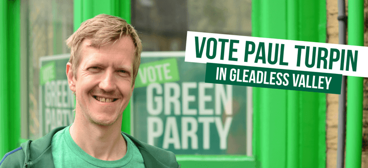 Vote Vote for Paul Turpin in Gleadless Valley in Gleadless Valley