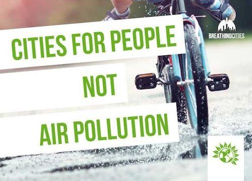 Cities for people not air pollution