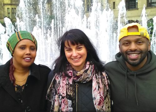 Cllr Kaltum Rivers, Angela Argenzio, Cllr Magid Magid