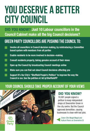 You deserve a better council leaflet