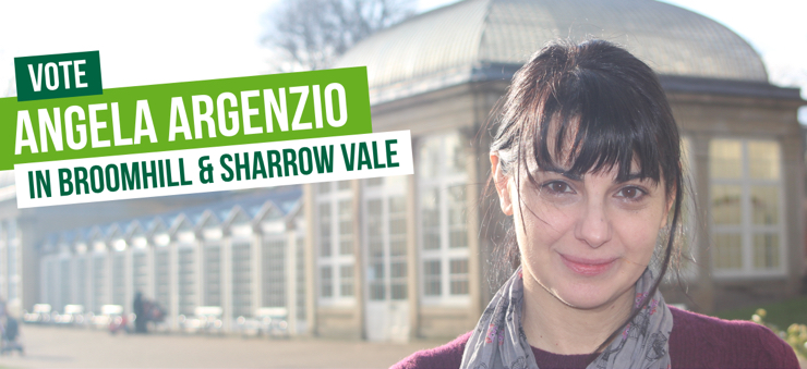 Vote Vote for Angela Argenzio in Broomhill & Sharrow Vale in