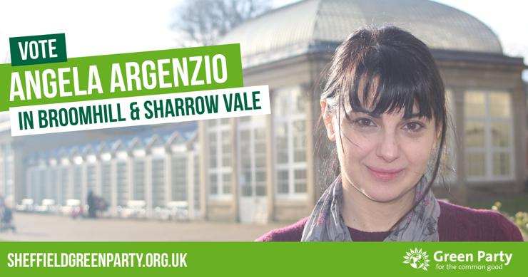 Vote Angela Argenzio in Broomhill & Sharrow Vale