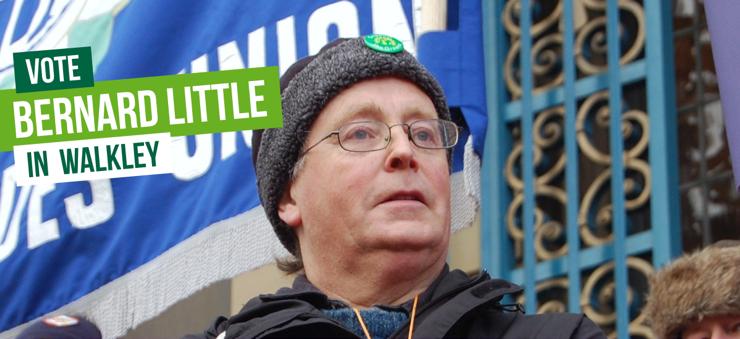 Vote Vote for Bernard Little in Walkley in