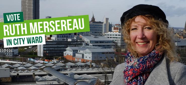 Vote Vote Ruth Mersereau in City Ward in
