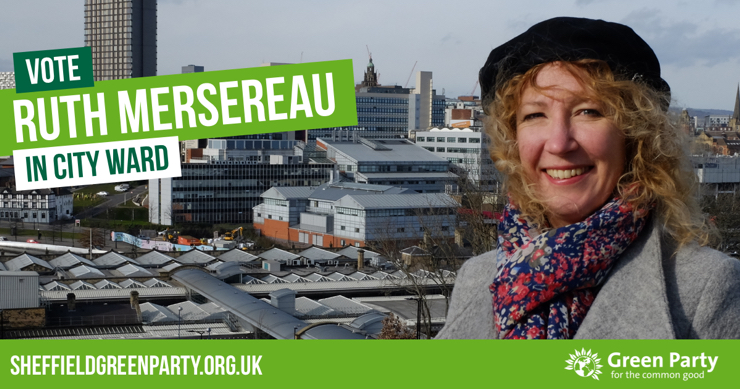Vote Ruth Mersereau in City Ward