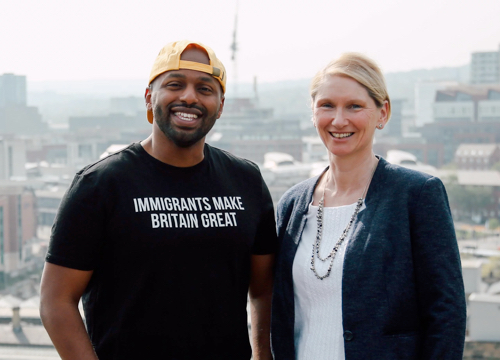 Magid Magid and Alison Teal