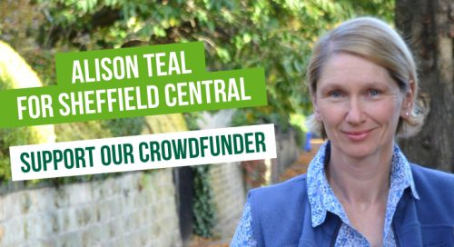 Alison Teal for Sheffield Central - Support our Crowdfunder