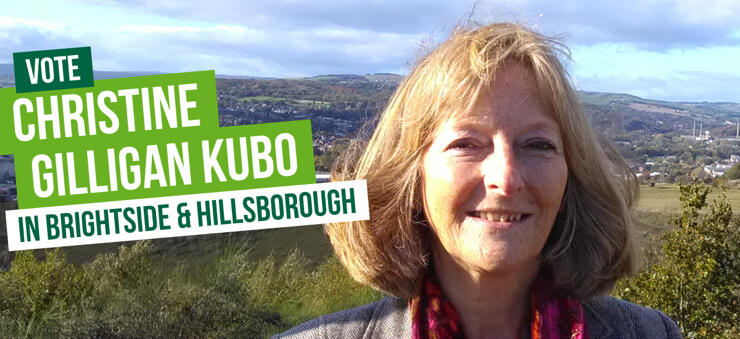Vote Vote for Christine Gilligan Kubo in Sheffield Brightside & Hillsborough on 12th December in