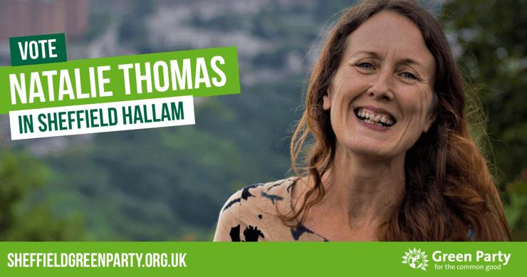 Vote Natalie Thomas in Sheffield Hallam