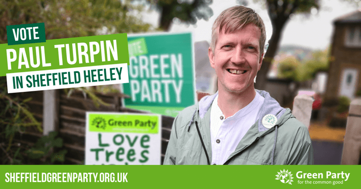Vote Paul Turpin in Sheffield Heeley