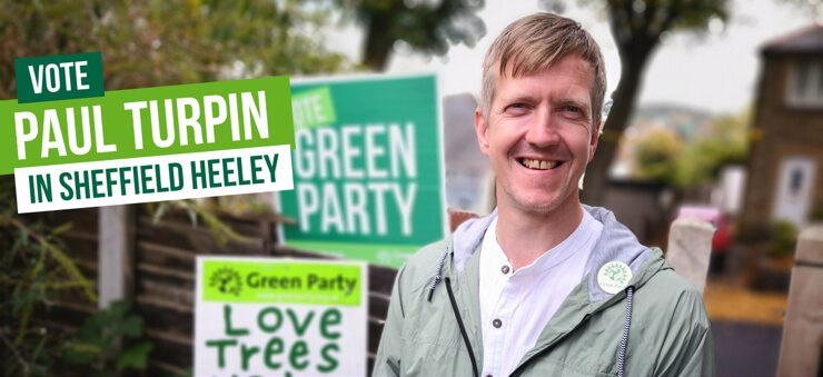 Vote Vote for Paul Turpin in Sheffield Heeley on 12th December in