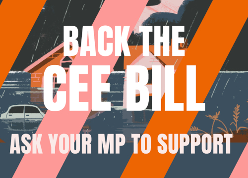 Back the CEE Bill. Ask your MP to support.