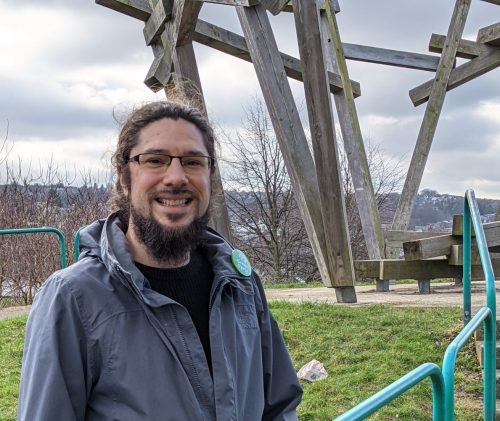 Alexi Dimond in the MIllenium Park