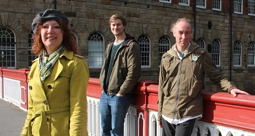 City Ward councillors Ruth Mersereau, Martin Phipps & Douglas Johnson