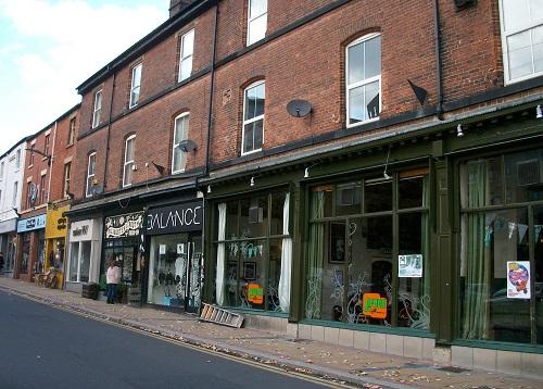 shops on Devonshire St